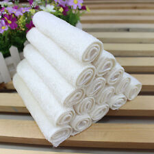White Absorbent Microfiber Towels Hand Towel Kitchen Dishcloth Dishrag Washcloth