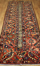 OLD WOOL HAND MADE PERSIAN ORIENTAL FLORAL RUNNER AREA RUG CARPET 305 X 96 cm