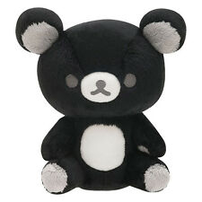 Rilakkuma Plush Doll Monochrome Black ❤ San-X Japan