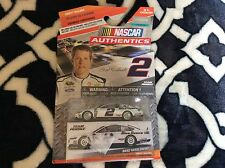 Nascar Authentics Brad Keselowski Blue Dance #2 1:64 Scale New in Package