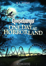 Goosebumps-ONE DAY AT HORRORLAND, R L Stine- once you enter you may never leave!