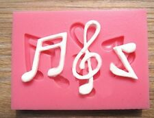Music Note Silicone Fondant Mat Mold Chocolate Mould Sugarcraft Cake Decorating