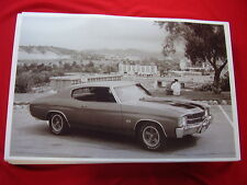 1971 CHEVROLET CHEVELLE SS 454   11 X 17  PHOTO   PICTURE