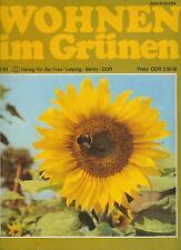 DDR Zeitschrift Wohnen im Grünen 2-1984