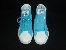 NOS VINTAGE 1980S AIRWALK SHOES BLUE SUEDE SIZE 4.5 SKATEBOARDING BMX