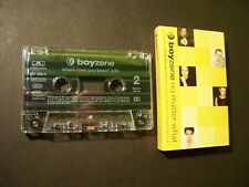 BOYZONE NO MATTER WHAT / WHERE HAVE YOU BEEN? CASSETTE SINGLE POLYGRAM 1998 MINT