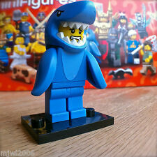 LEGO 71011 Minifigures SERIES 15 SHARK SUIT GUY #13 SEALED Minifigs Man Left Fin