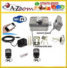 Electronic Door Lock Kit-Mobile Cloud WiFi/Wireless Less Remote Switch Operated