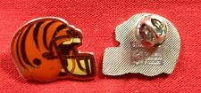Lot Of 101 Cincinnati Bengals NFL  Helmet Lapel Pin Tie Tac Hat Pin