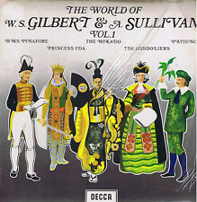 The World of Gilbert & Sullivan vol.1 - DECCA spa 28 - LP sealed SIGILLATO