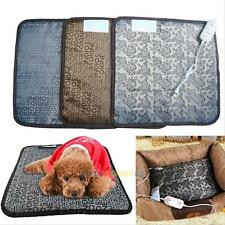 Pet Dog Cat Puppy Waterproof Electric Heating Heater Pad Mat Warm Blanket Bed #L