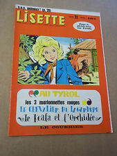 "MAGAZINE ""LISETTE no 11"" R. MARCELLO"