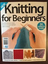 Knitting For Beginners Patterns Basic Stitch Projects 3rd Ed 2016 FREE SHIPPING