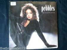 "VINYL 7"" SINGLE - GIRLFRIEND - PEBBLES - MCA1233"