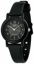 Casio LQ139A-1B3, Classic Black Analog Watch, Black Resin Band