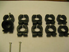 4-standard fishing pole storage clips clamps rod holders Genuine Original
