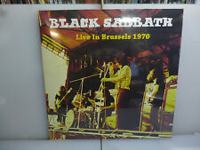 BLACK SABBATH-LIVE IN BRUSSELS 1970. BELGIUM 1970.-GATEFOLD VINYL LP-NEW.SEALED