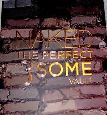 AUTHENTIC BNIB URBAN DECAY NAKED THE PERFECT 3SOME VAULT -NAKED NAKED 2 NAKED 3