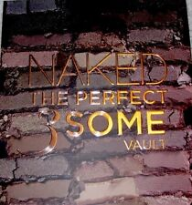 BNIB URBAN DECAY NAKED THE PERFECT 3SOME VAULT NAKED NAKED 2 NAKED 3 Free Ship!