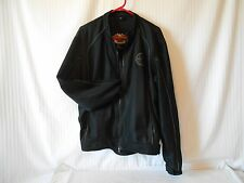 "mens ""Harley Davidson""motorcycle jacket (XL) mesh/poly-black"