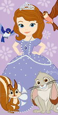 Official Disney Princess Sofia the First Cotton Beach Bath Towel New Gift