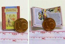 #1114# Bilderbuch - Pinocchio - Puppenhaus-Puppenstube - M 1:12