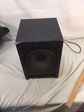Polk Audio Black Subwoofer RM 6750 Black Wall Plug In SUBWOOFER ONLY 32284