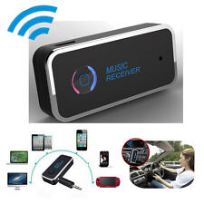 Wireless Bluetooth 4.1 Stereo Music Home Car Receiver 3.5mm AUX Audio Adapter