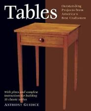 Tables: With Plans and Complete Instructions for 10 Tables (Projects B-ExLibrary