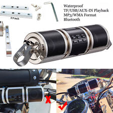 Motorcycle Speaker Audio Radio Bluetooth Motorcycle Speakers System Waterproof