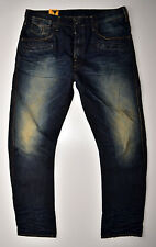 G-Star Raw-davin 3d Loose tapered-used, vintage look Jeans-w36 l34 nuevo!!!