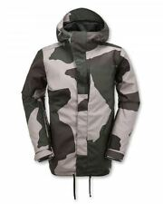 2016 NWT MENS VOLCOM INVADER SNOWBOARD JACKET $250 L camouflage waterproof dry