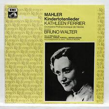KATHLEEN FERRIER, BRUNO WALTER - MAHLER kindertotenlieder, arias, melodies LP