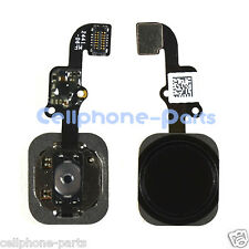 iPhone 6 & 6 Plus Flex Cable with Fingerprint Touch ID Sensor, Home Button Black