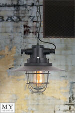 Spence Factory Factory Vintage Retro Industrial Warehouse Pendant light