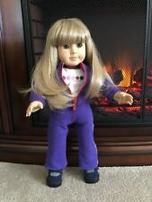 Retired American Girl Doll Pleasant Company Just Like You Blonde Hair Blue Eyes