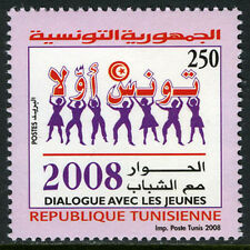 Tunisia 1449, MNH. Dialogue With Youth, 2008