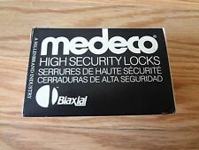 Medeco High Security 20W20052-12-E3S Sargent Knob Lock Cylinder SATIN BRONZE