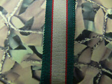 Medal Ribbon Miniature - 1936 - 1939 UK India General Service Medal