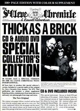 SEALED CD BOX SET JETHRO TULL THICK AS A BRICK CD/AUDIO DVD SPECIAL COLLECTOR'S
