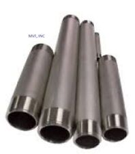 """2"""" X 5-1/2"""" Threaded NPT Pipe Nipple S/40 304 Stainless Steel BREWING  SN273-4"""