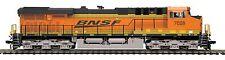 MTH 80-2327-0, HO Scale, ES44AC Diesel Engine (DCC Ready) - BNSF #7028
