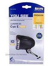 80 Lux Busch&Müller  LED E-Bike Spezialscheinwerfer Cyo Premium  (für 6-42Volt)