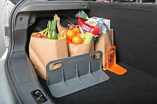 Stayhold No Movement Car Vehicle Trunk / Boot Tidy Organiser Tool - Classic Grey