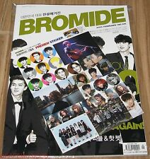 BROMIDE EXO SHINEE JONGHYUN LEE MIN HO K-POP MAGAZINE 2015 FEB FEBRUARY NEW