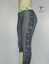 NWT VICTORIA'S SECRET PINK SKINNY FLEECE PANT  GRAPHIC XSMALL ZZ06
