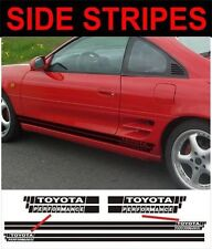 side stripes toyota Performance style fit toyota mr2
