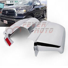 2Pcs New Chrome Side Mirror Cover Trim For Toyota Tundra 07-16 Sequoia 08-16 FM