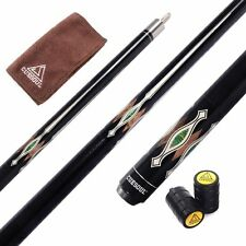 with protector! CUESOUL 19 oz 1/2 Maple Billiard Pool Cue Stick 58 inch 07