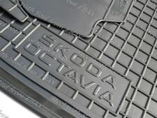 Fully Tailored Rubber / Car Floor Mats Carpet for SKODA OCTAVIA III 2013—2017